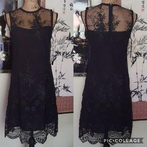 Nanette Lepore formal black dress